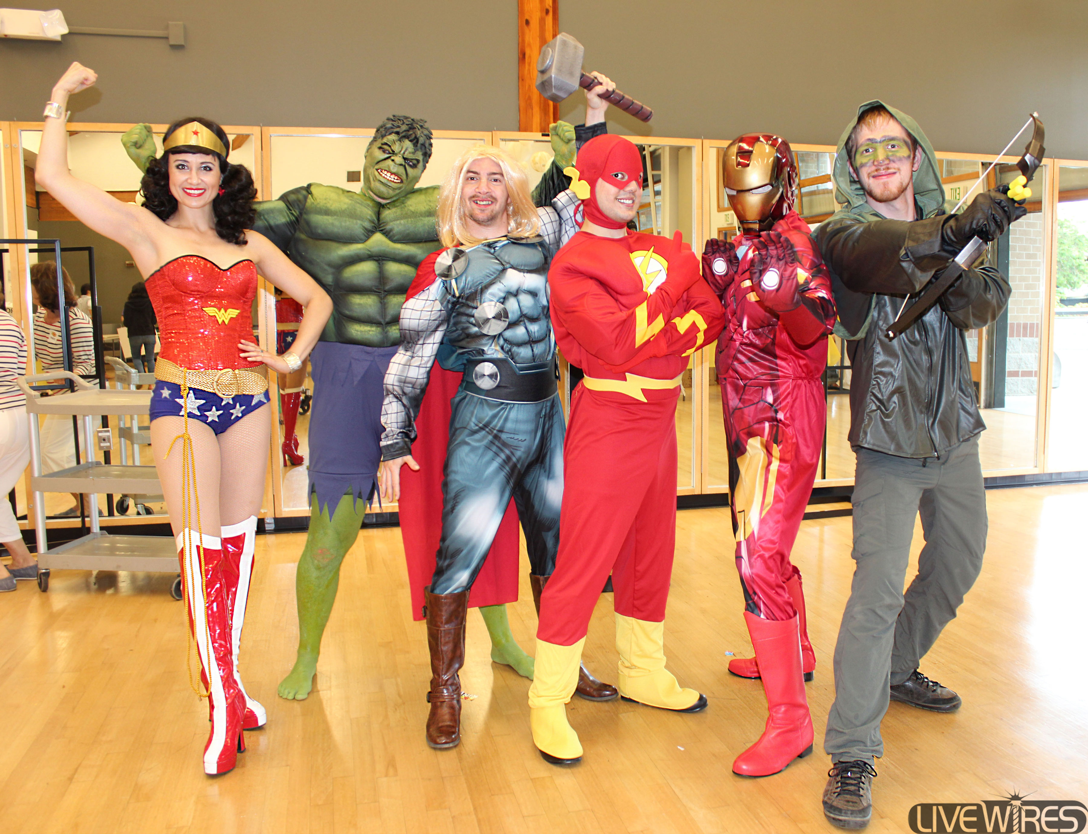 King County Library Superheroes