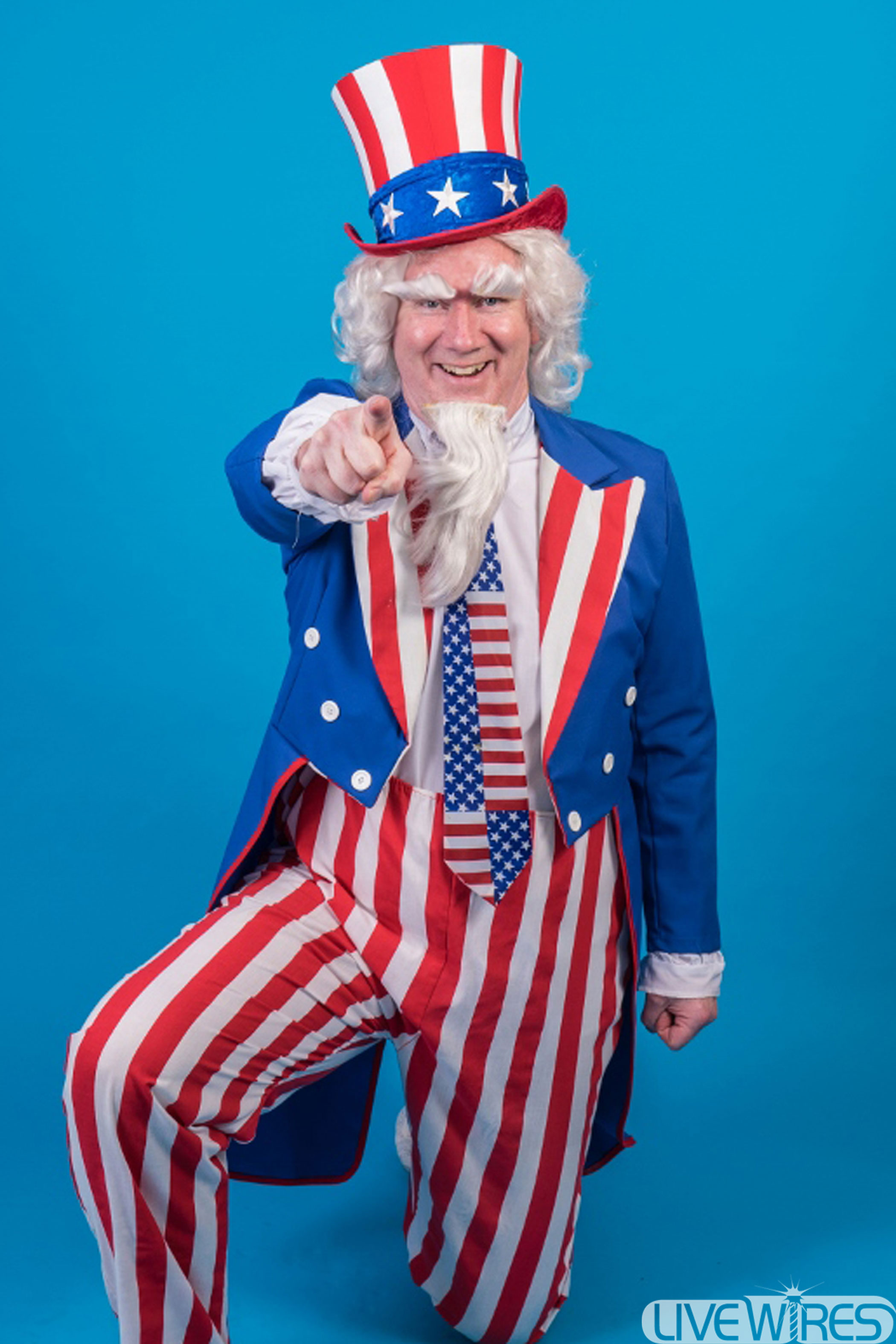 Bill McQuaid as Uncle Sam