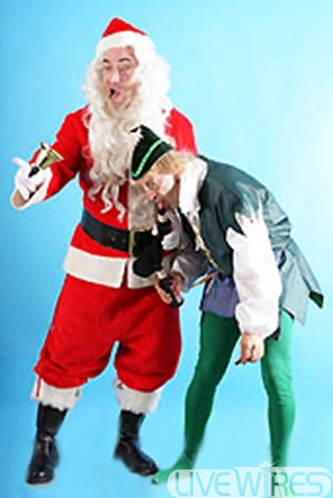 Bad Santa & Icky Elf Duo